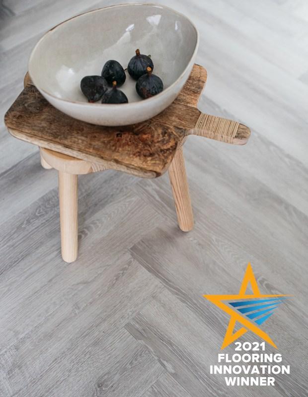 earl grey flooring innovation award winner